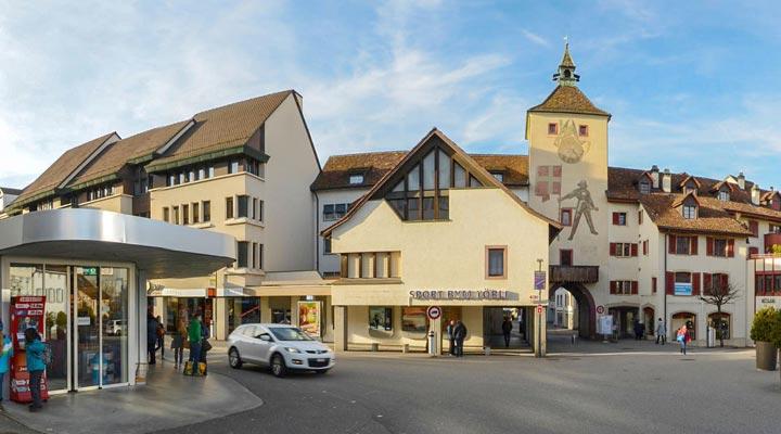 Anfahrt Liestal